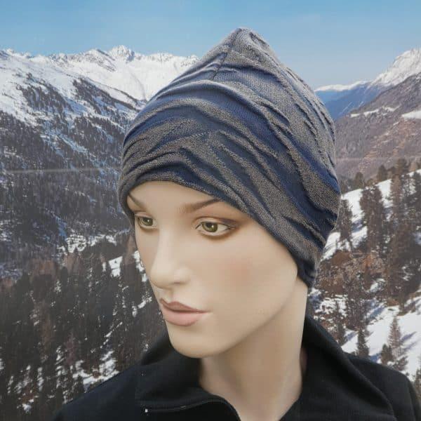Hat wave blue