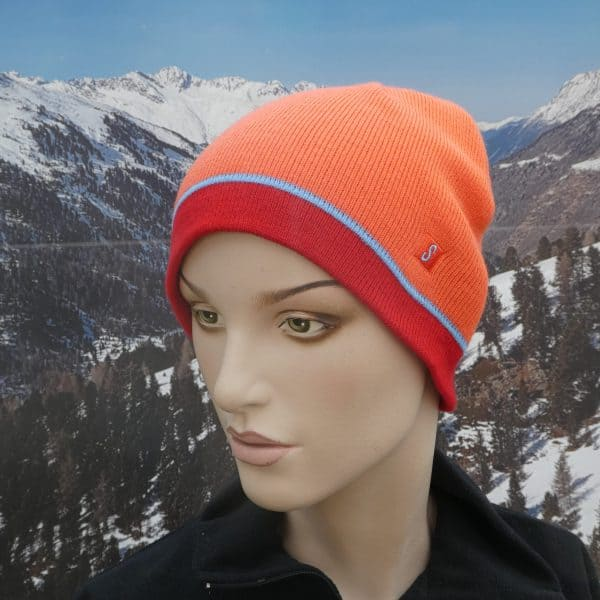Hat orange beanie