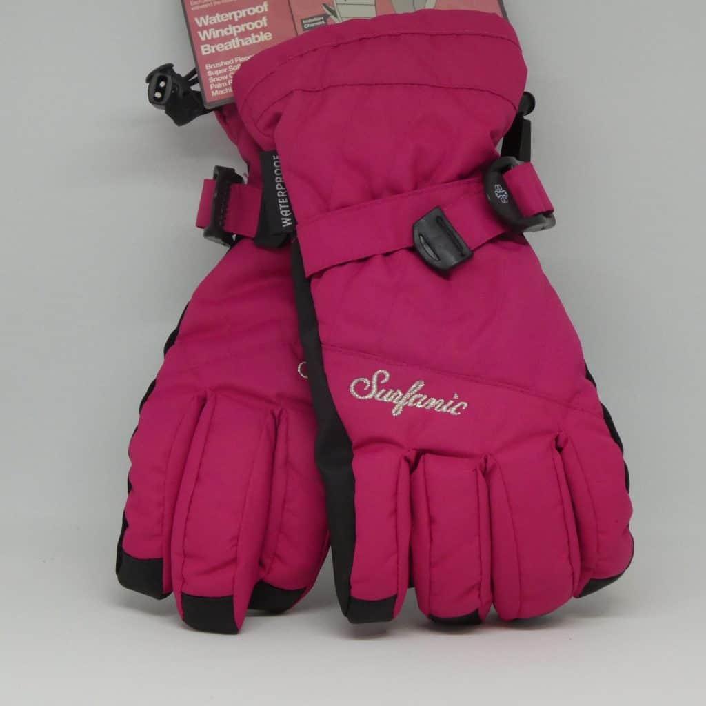 glove surfanic feeler hot pink