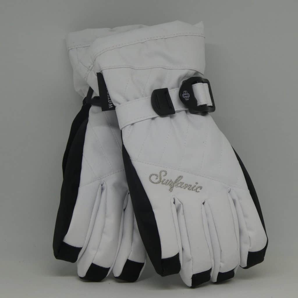 glove surfanic cushy white 2