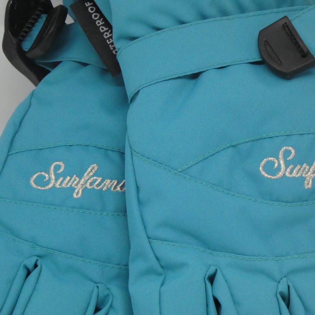 glove surfanic core turquoise 2