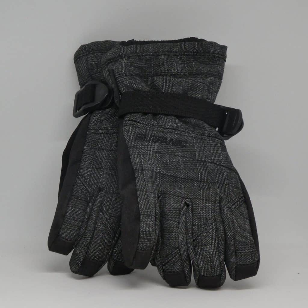 surfanic glove snapper grey check