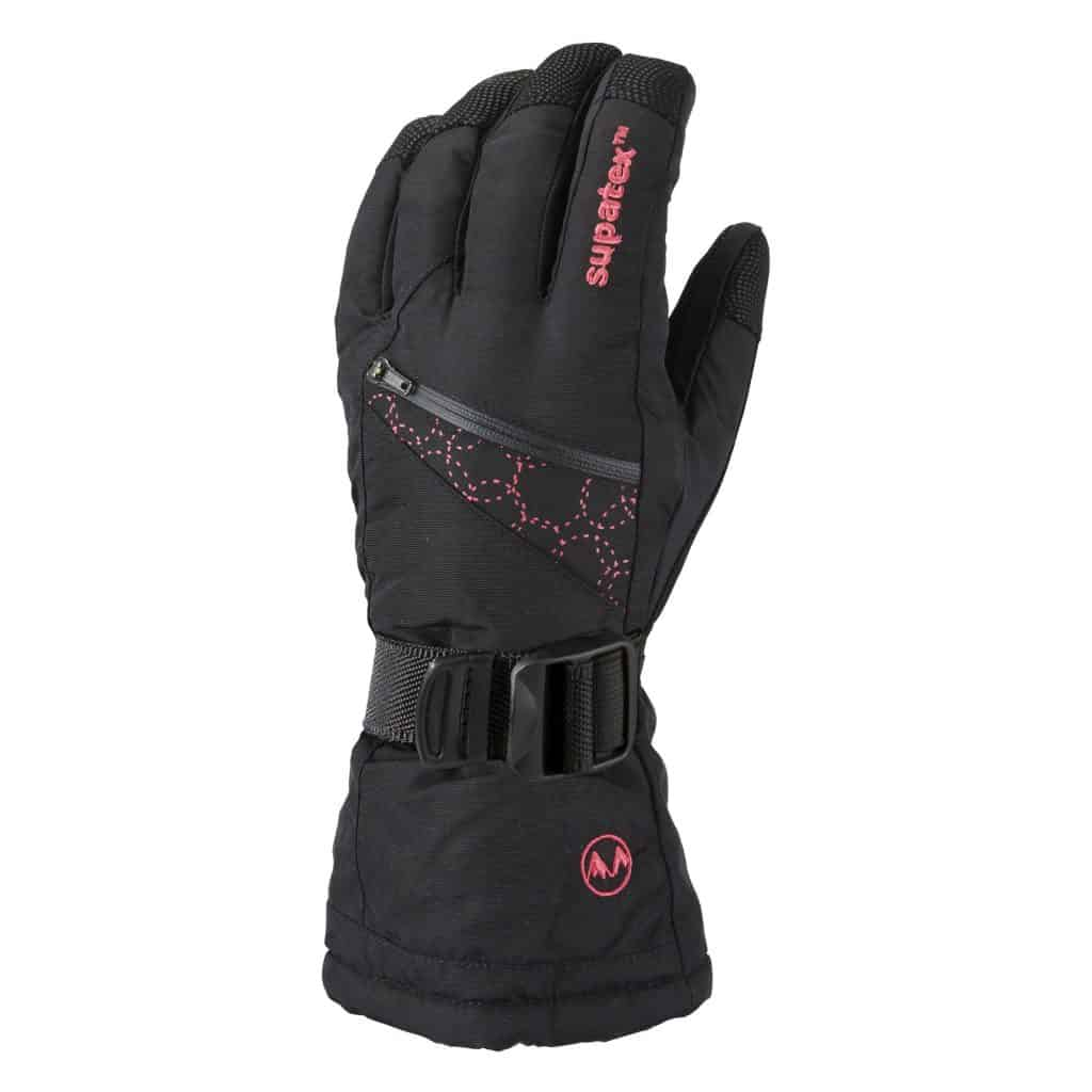 glove motion black pink