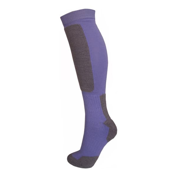 sock hi bluebell grey