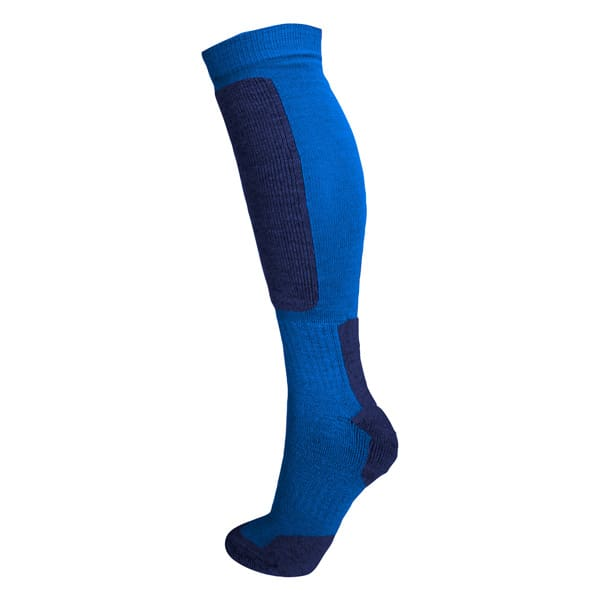 sock hi double blue