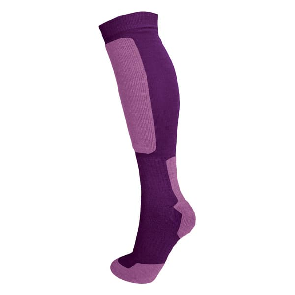 sock hi double purple