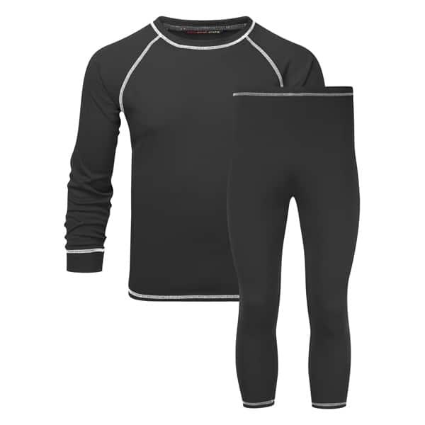 thermals black set