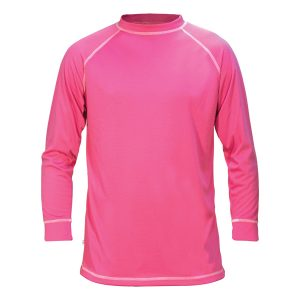 thermal pink base layer top