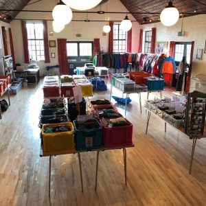 Local village hall sale day