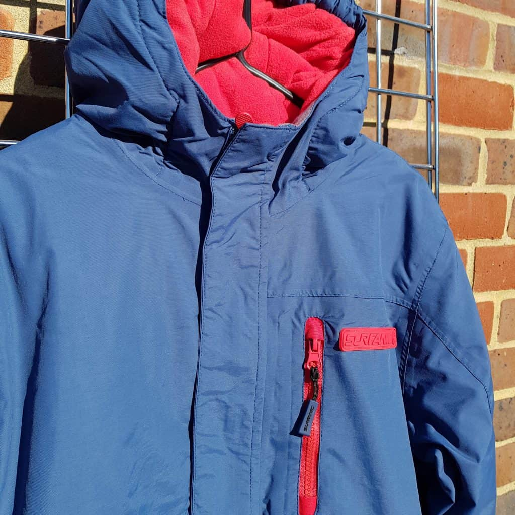 Junior unisex ski jacket surfanic abu blue