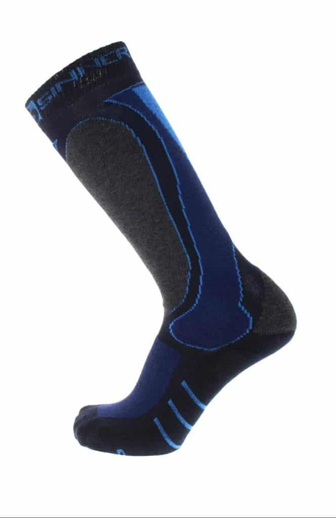 sinner sock blue