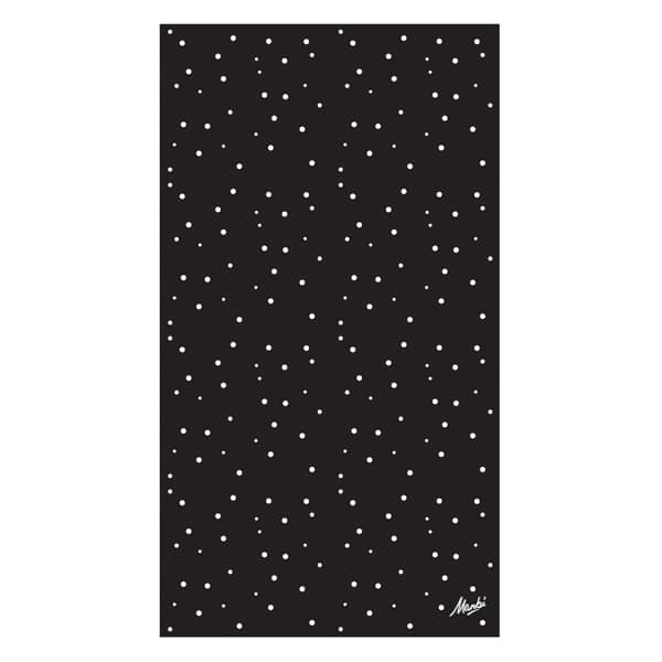 Hula Black white dots