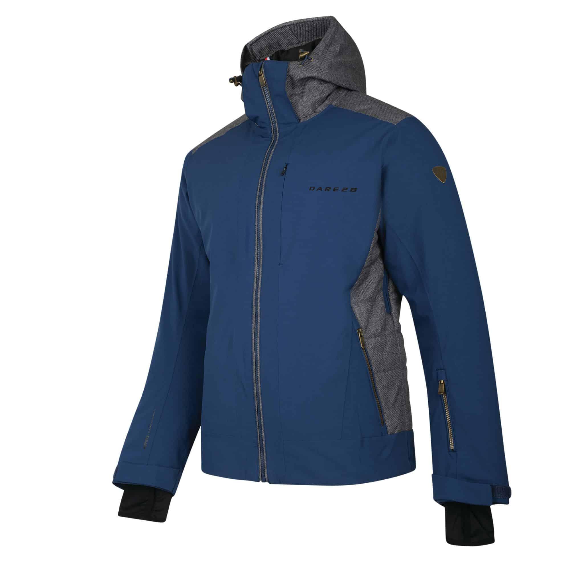 rendition 1718 jacket seville blue and grey